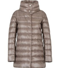 feather padded coat
