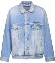 balenciaga branded jacket