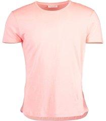 pink ob-t melange t-shirt