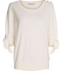 fabienne chapot molly short sleeve pullover off white ecru