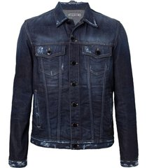 jaqueta john john turim jeans azul masculina (jeans escuro, gg)