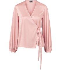 omlottblus objalina l/s balloon blouse