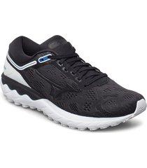 wave skyrise shoes sport shoes running shoes svart mizuno