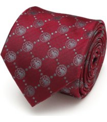 game of thrones targaryen dragon scattered men's tie