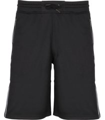 givenchy logo tape track shorts