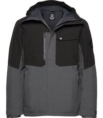powderstash jacket m outerwear sport jackets grå salomon
