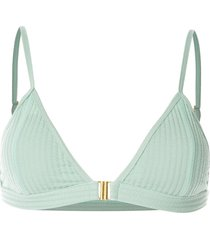 duskii capriosca bikini top - green