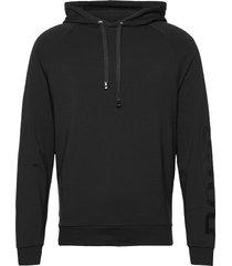 fashion sweatshirt h hoodie svart boss
