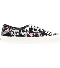 ua og authentic lx low top, zodiac embroidered