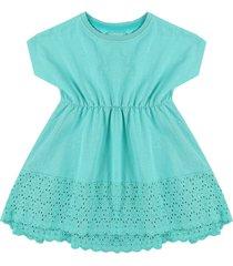 vestido azul turquesa name it
