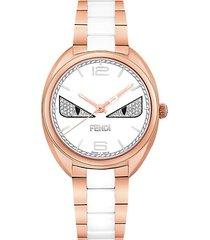 momento bugs stainless steel bracelet watch