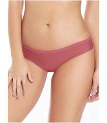 chamela 22511 - panty tipo brasilera - ropa interior de mujer-blanco-palo de rosa