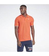polo shirt korte mouw reebok sport training essentials poloshirt