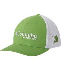gorra verde clean marlin columbia pfg mesh
