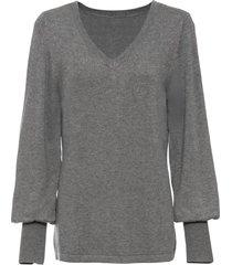 maglione con maniche a palloncino (grigio) - bodyflirt
