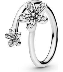 anel margaridas radiantes - flor da pureza