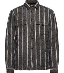 aklobi overshirt overhemd casual grijs anerkjendt