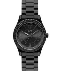 relógio euro aro spikes feminino