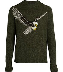 eagle wool-blend sweater