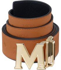 men's mcm reversible leather belt