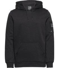m tech hoodie hoodie trui zwart peak performance