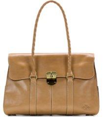 patricia nash heritage vienna leather satchel