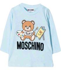 moschino light blue t-shirt