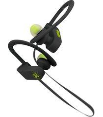 audífonos klip xtreme deportivos khs-632bk negro-verde