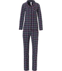 dames pyjama flanel rebelle 21192-440-6-46
