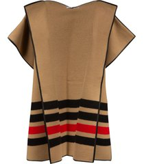 burberry blanket cape