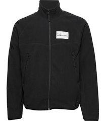 halo atw zip fleece sweat-shirts & hoodies fleeces & midlayers zwart halo