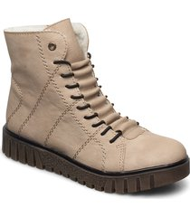 y3420-60 shoes boots ankle boots ankle boots flat heel beige rieker