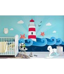 fototapeta dla dzieci latarnia morska