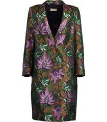 richy long sleeve floral print jacket