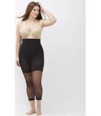 lane bryant women's spanx higher power capri d black