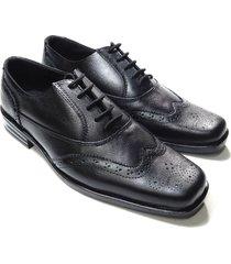 oxford formal juan younglife cuero negro