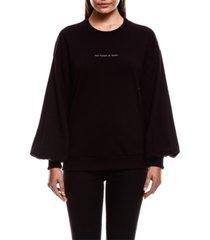 colcci the future is human sweatshirt