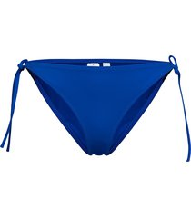 cheeky string side tie bikinitrosa blå calvin klein