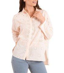 blusa algodón orgánico aruba nude rockford