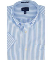 gant overhemd regular fit blauw wit strepen