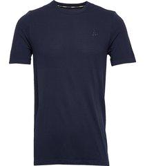 fuseknit light rn ss m t-shirts short-sleeved blå craft