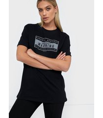 nly trend oversize reflective tee t-shirts
