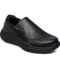 mens expected 2.0 loafers låga skor svart skechers