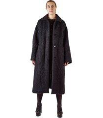 long mohair coat
