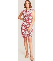 vestido ajustado floral-6