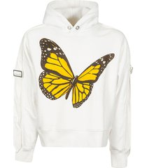 palm angels tape butterfly hoodie