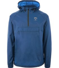 packmack pop over rain jacket - royal blue pm200-blu