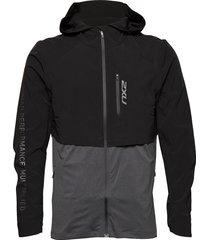 ghst 2 in 1 jacket-m outerwear sport jackets zwart 2xu