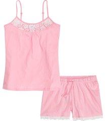pigiama estivo in cotone biologico (rosa) - bpc bonprix collection