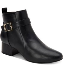 charter club katiaa buckled booties, created for macy's women's shoes